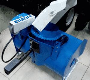 Воздушно-вентиляторный снегоуборщик или снегоход-пылесос