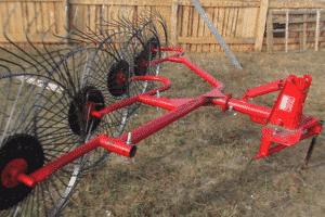 Колесные грабли ворошилки для трактора