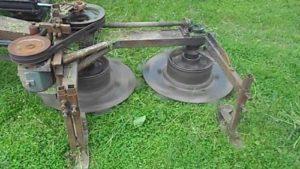 Самодельная роторная косилка на минитрактор