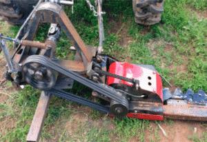 Самодельная сегментная косилка на минитрактор