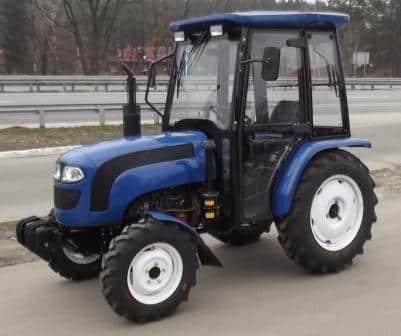 Трактор Булат 354 с кабиной
