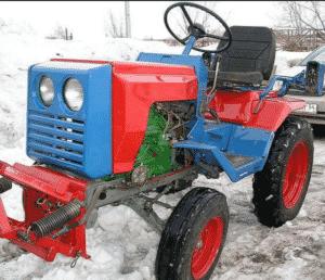 Тракторы КМЗ 012 - технические характерисктии