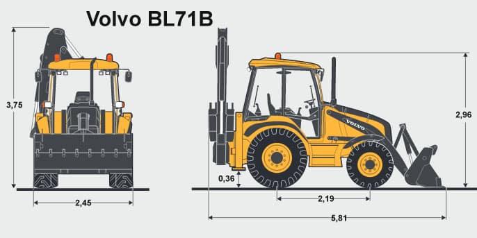Трактор Вольво (Volvo) ВЛ 71 - характеристики