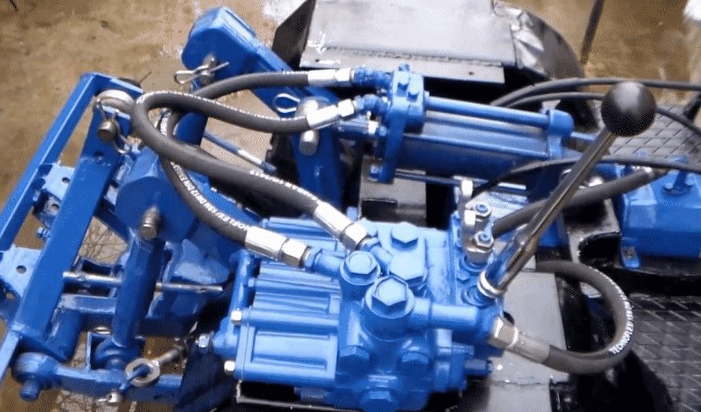 Как сделать самодельную гидравлику на трактор?