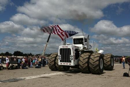 Самый тяжёлый трактор в мире