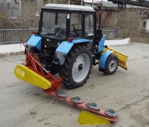 Косилки навесная КРН на трактор