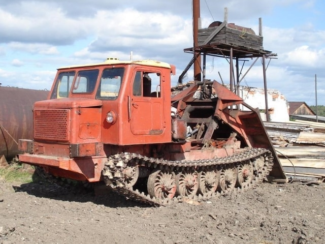 Трелевочные тракторы