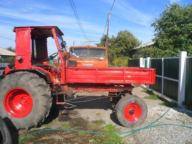 Сколько весит трактор Т-16?