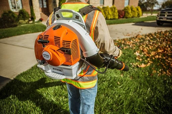 Садовый пылесос измельчитель бензиновый