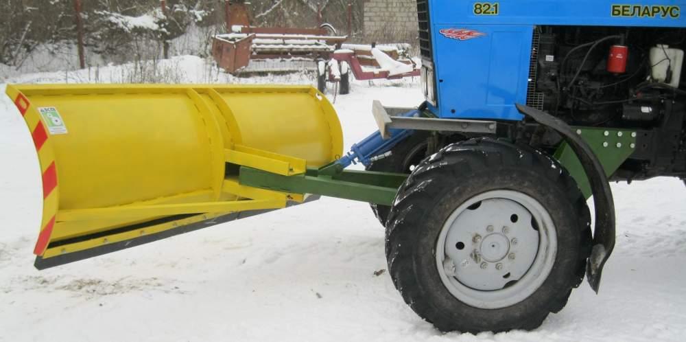 Трактор снегоуборочный своими руками