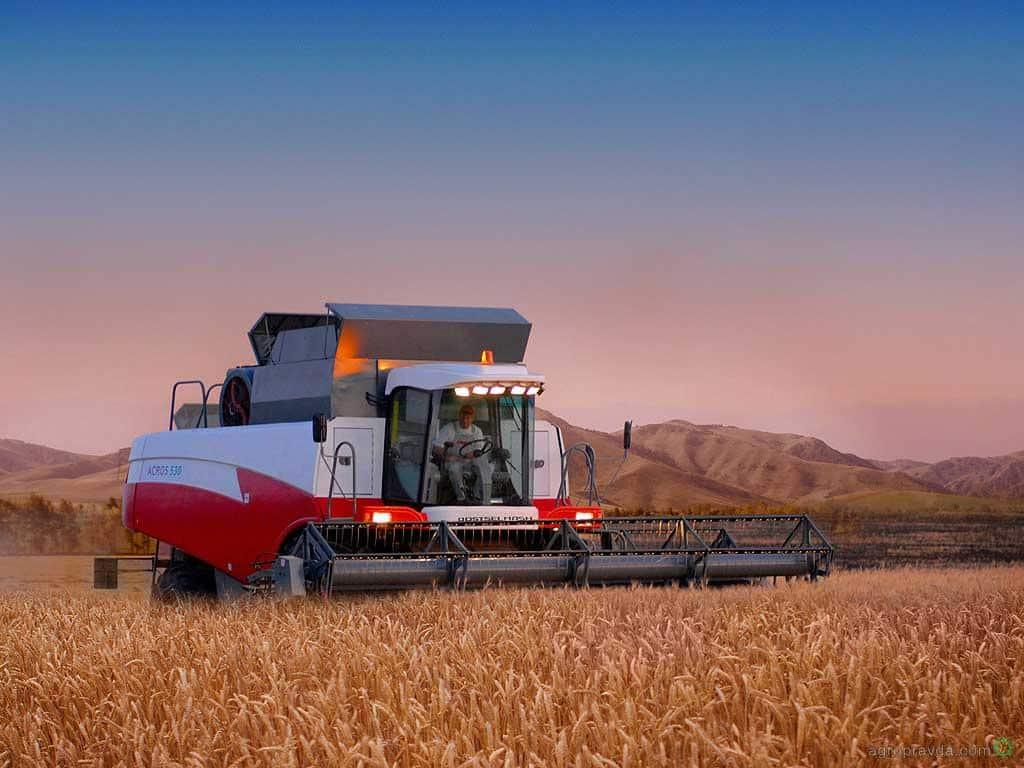 Зерноуборочных комбайнов