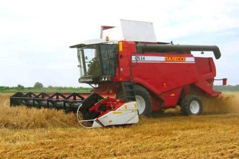 Классификация зерноуборочных комбайнов