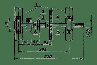 Устройство ВОМа - схема