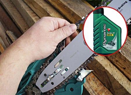 Какое масло заливать в электропилу для смазки цепи?