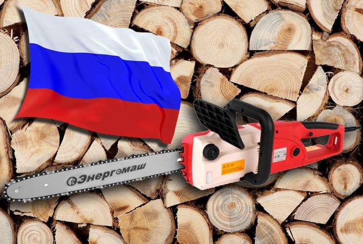 электропилы российского производства