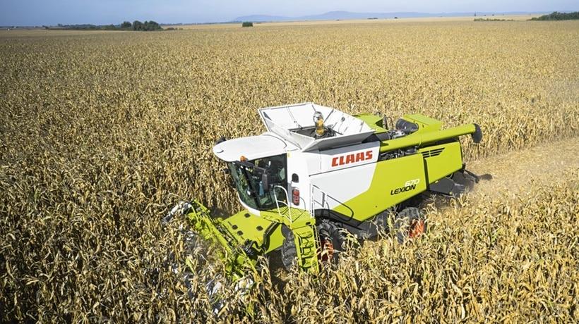 Зерноуборочные комбайны «CLAAS» Lexion