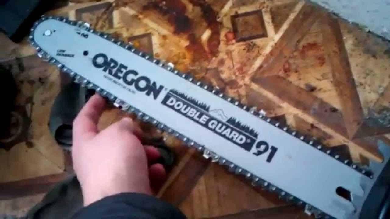 Пила цепная электрическая «Орегон» Double Guard 91