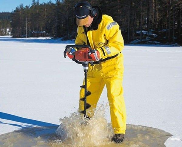 Мотобур для льда