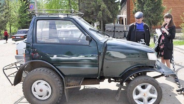 Тракторные машины из «Оки»
