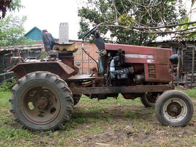 Трактора самодельные