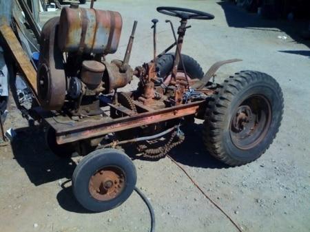 Сделать самому трактор