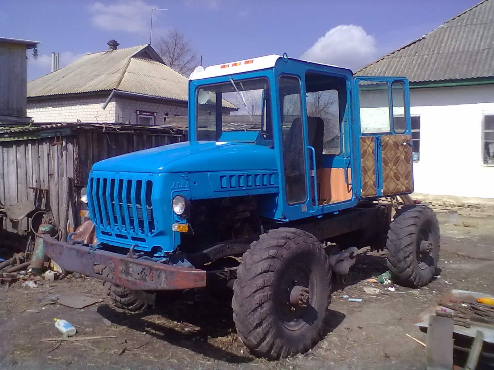 Трактор из «Газ-66»