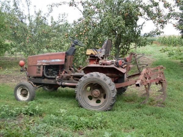 Самодельный трактор с двигателем «Лифан»