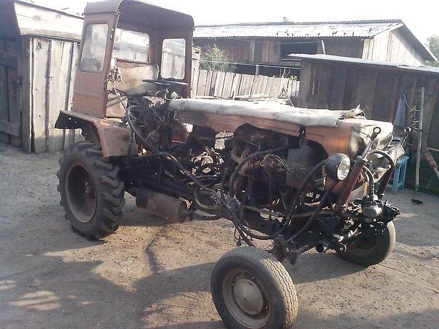 Построить трактор в домашних условиях