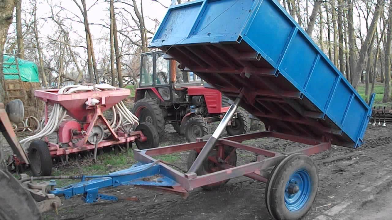 Телега для трактора своими руками