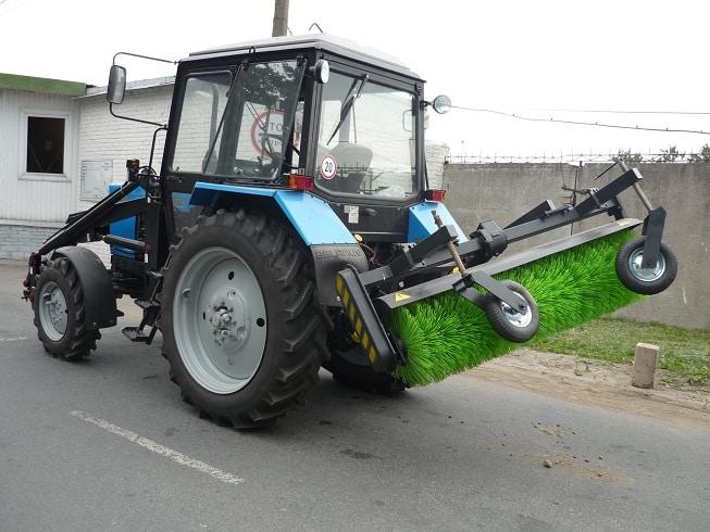 Щетки для трактора
