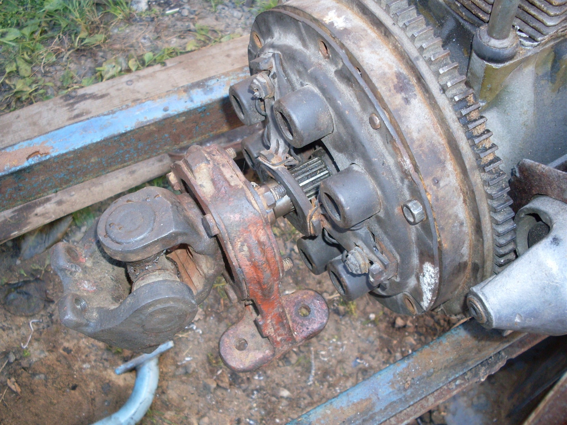 Двигатель и сцепление своими руками фото 25