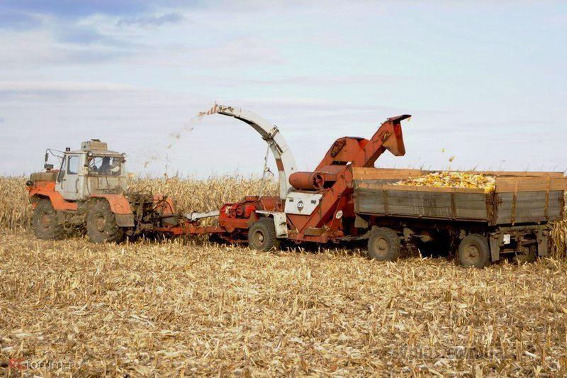 Агрегаты для уборки кукурузы на силос