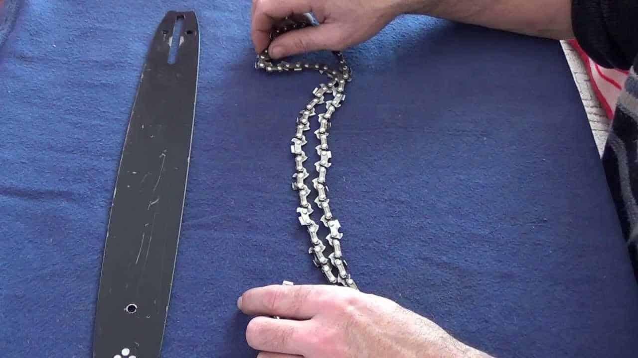 Подобрать цепь для бензопилы