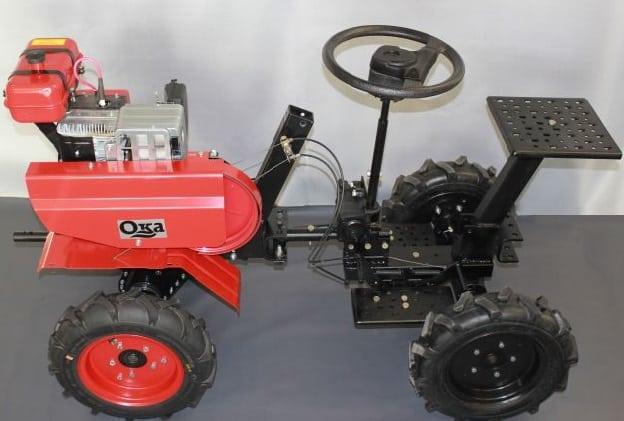 Самодельный трактор из мотоблока своими руками