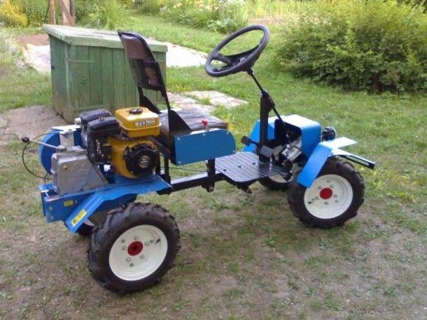 Из мотоблока сделать трактор