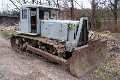 Универсальный трактор т 74