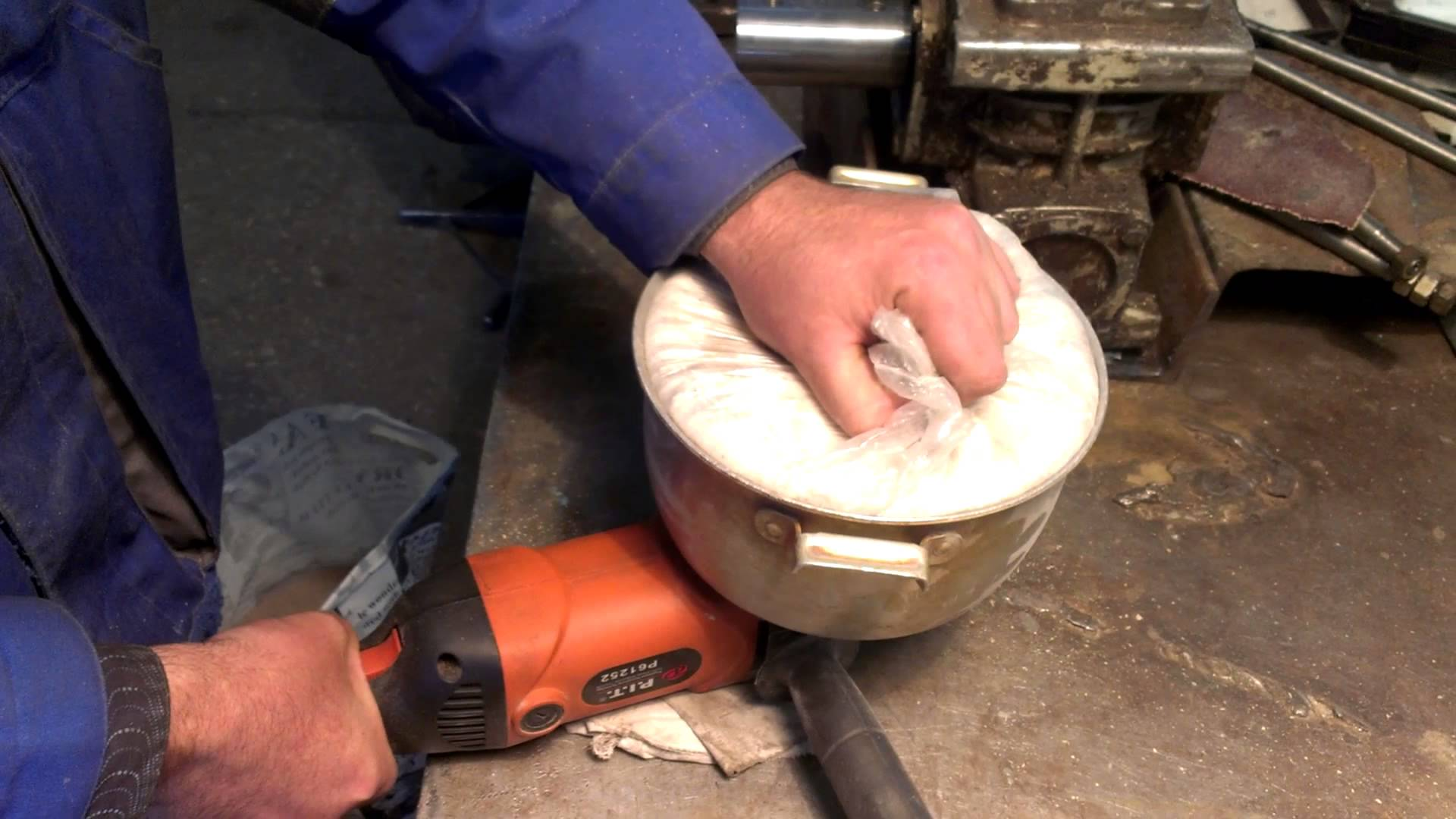Мукомолка из болгарки своими руками