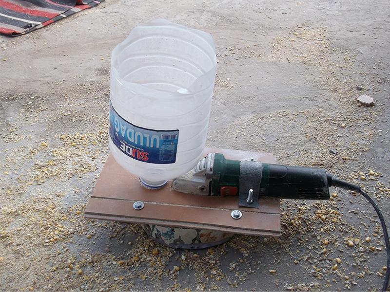 Дробилки для зерна своими руками из болгарки