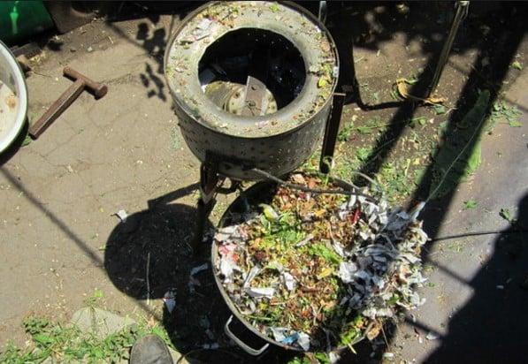 Дробилка из стиральной машины своими руками 925
