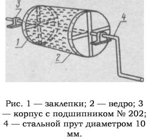 Как изготовить корморезку своими руками