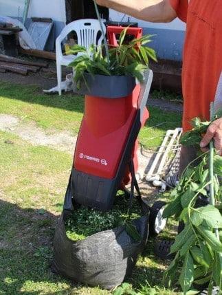 Садовый измельчитель STERWINS