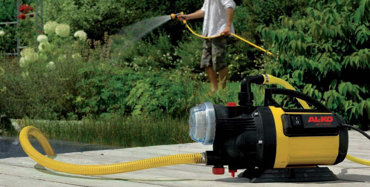 Садовые насосы для полива из емкости