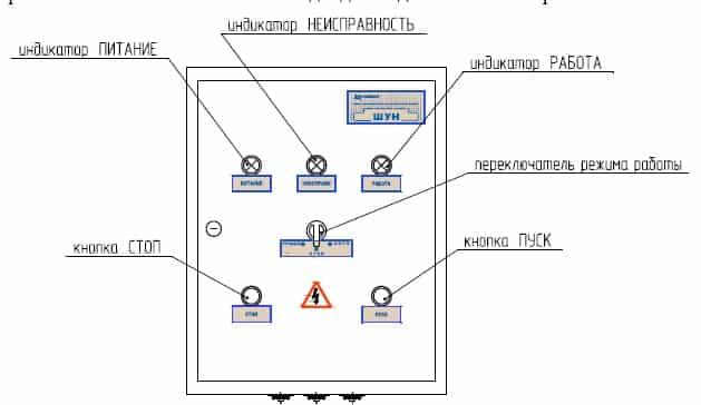 Схема подключения станций и систем управления насосами