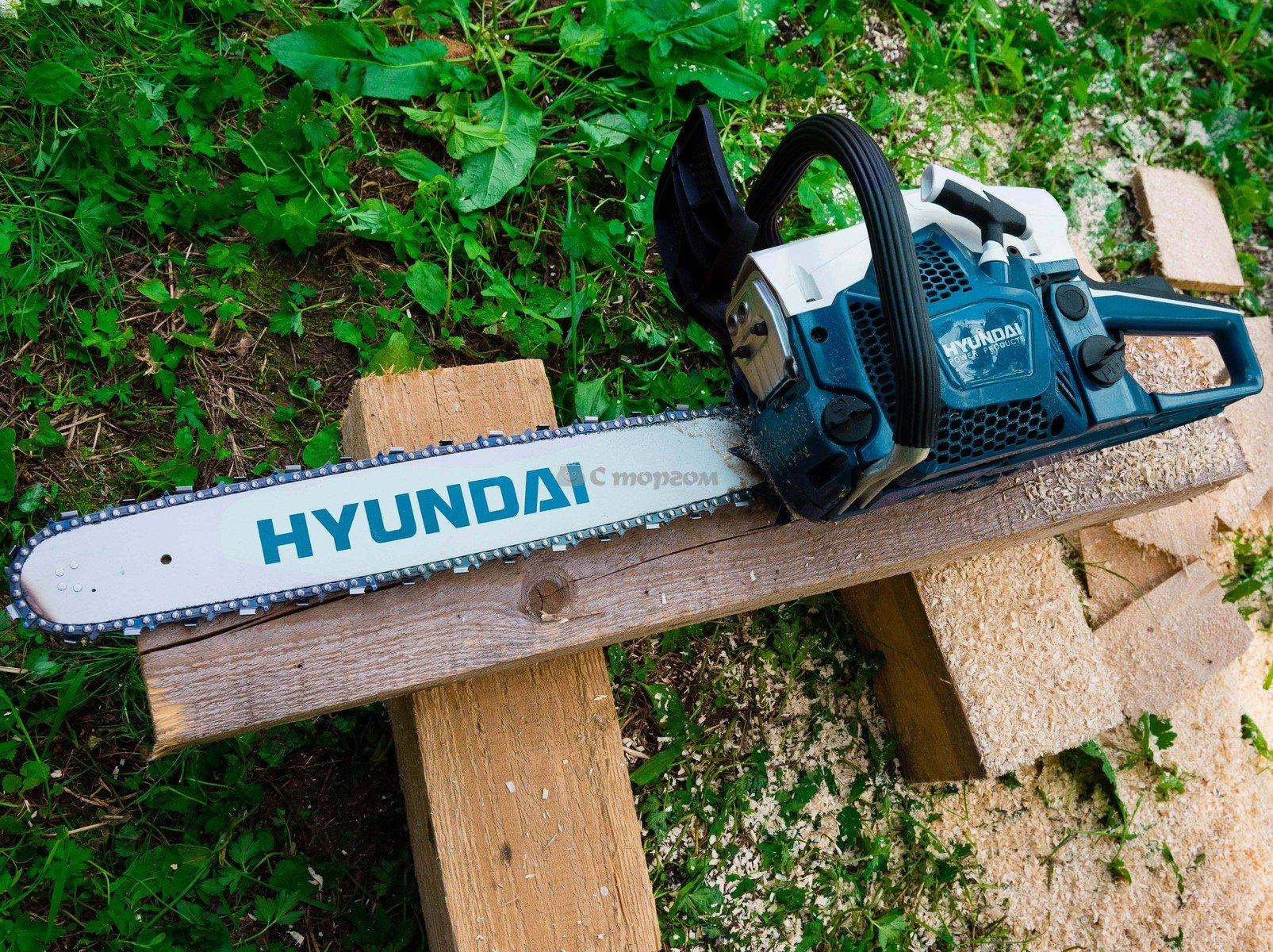 Бензопила Hyundai X 410