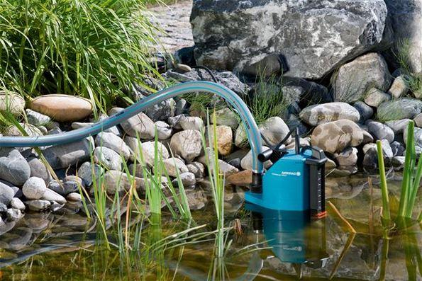 Как выбрать насос для полива из пруда?
