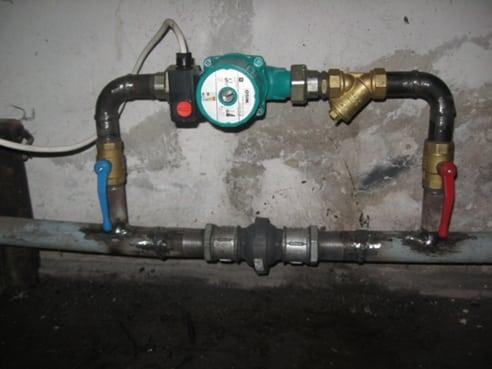Как правильно сделать байпас на отопление?