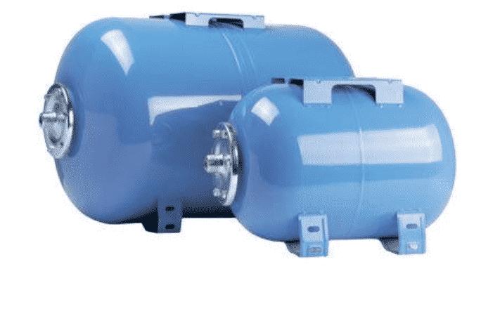 Горизонтальные гидроаккумуляторы